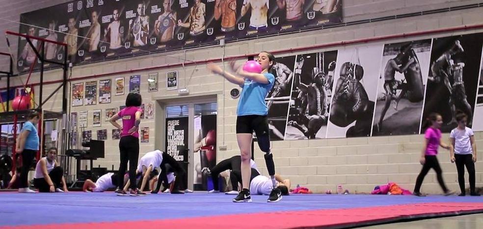 Ponferrada impulsa el camino de la gimnasta Marta Casado hacia los Juegos Paralímpicos de Tokio 2020