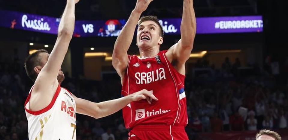 Bogdanovic decide que Serbia jugará la final