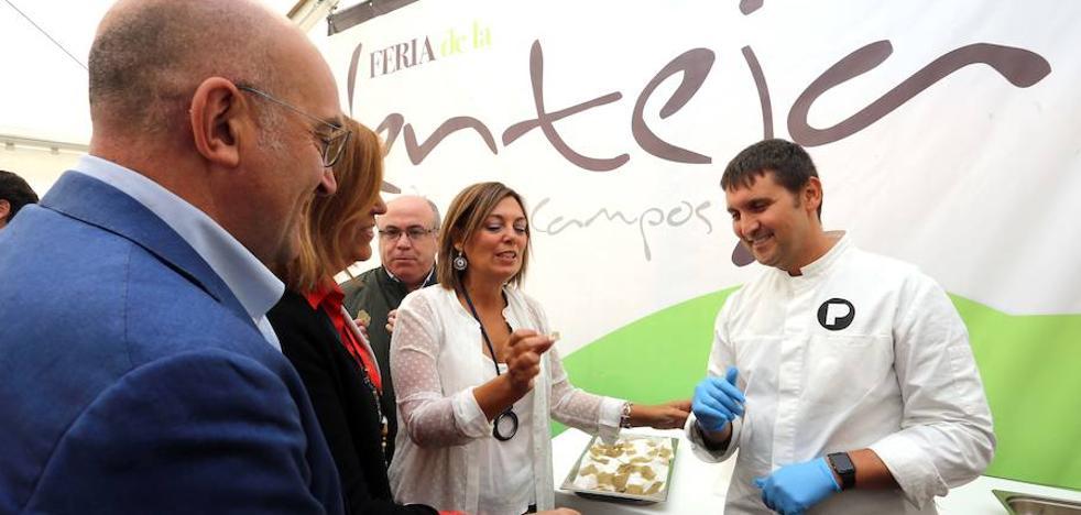 Marcos destaca el apoyo de la Junta a la producción de legumbre de calidad ante su gran potencial de crecimiento