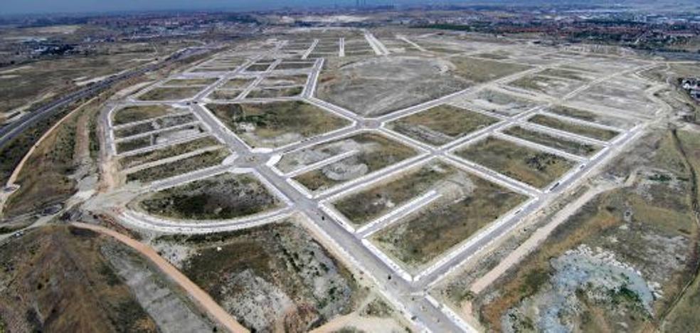 El suelo urbano en León sigue a la baja y es ya un 60% más barato que el de Valladolid