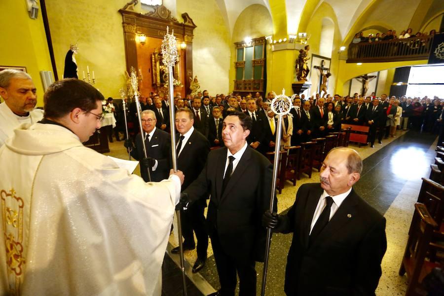 Toma de posesión del nuevo Abad de la Cofradía del Dulce Nombre de Jesús Nazareno