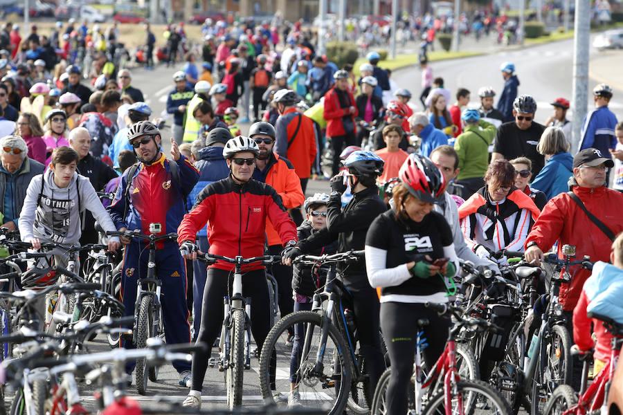 Día de la bici en León