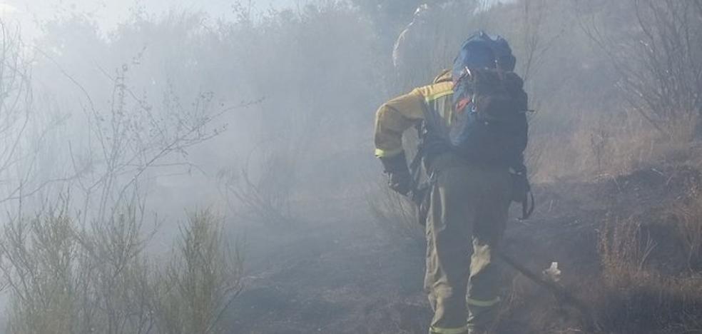 El incendio intencionado de Balboa arrasó 25 hectáreas de matorral y roble