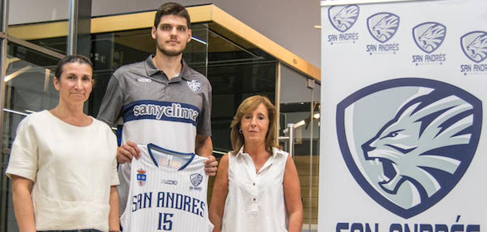 Sergio Martínez, centímetros de calidad para el CB San Andrés