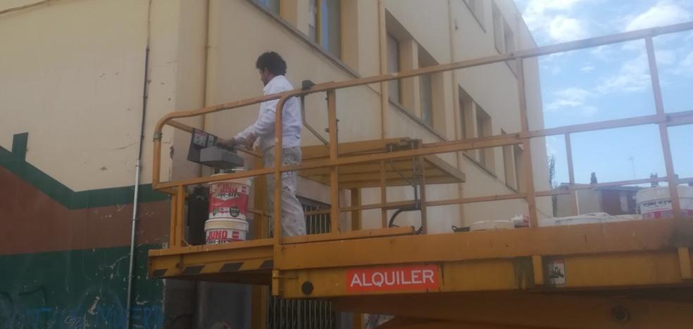 La Casa de Cultura de Pinilla lucirá un aspecto renovado a mediados de octubre