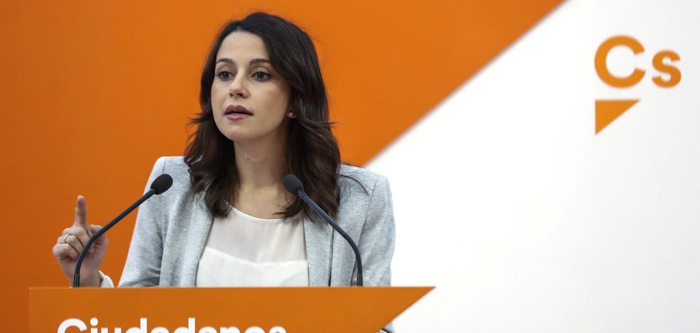 Ciudadanos pide al PP que aparque la «calculadora electoral» y respalde la moción contra Puigdemont
