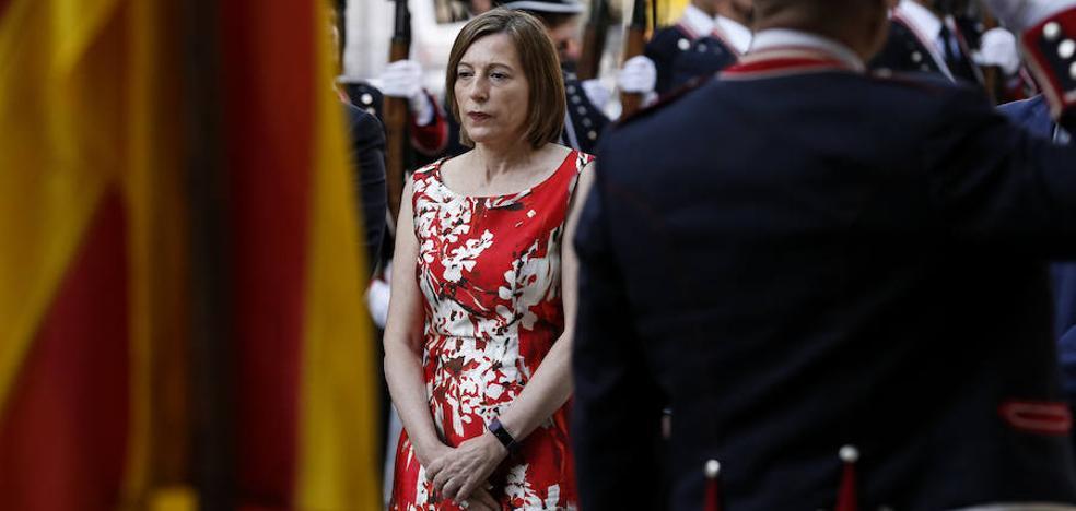 Forcadell pide que la justicia europea se pronuncie sobre su «persecución penal»