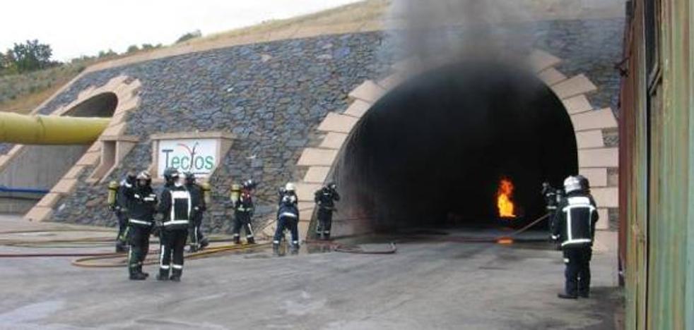 La Fundación Santa Bárbara forma a 120 bomberos en extinción de fuegos en túneles e infraestructuras subterráneas