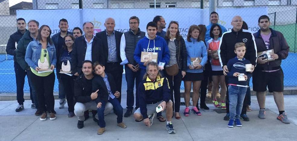 Fernández y Castro se llevan la Copa Diputación de Bembibre