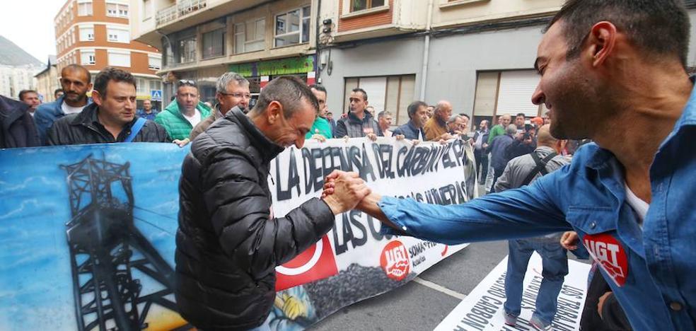 Una ola de solidaridad recorre Ponferrada para pedir futuro para el carbón