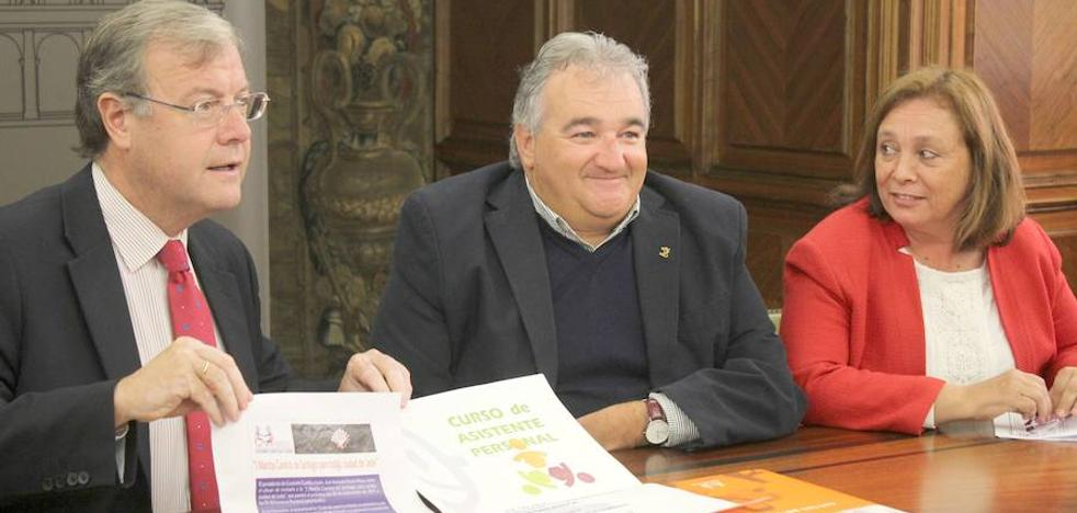 León y Cocemfe pondrán en valor el Camino a su paso por la capital con una carrera y una guía para personas con discapacidad