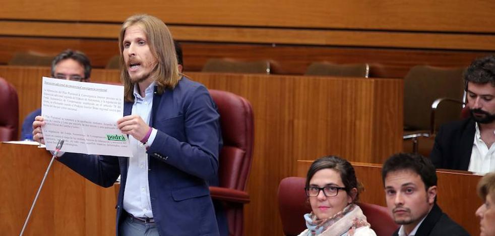 Herrera reta a Podemos a respaldar el techo de gasto para dedicar fondos en 2018 al Plan de Convergencia