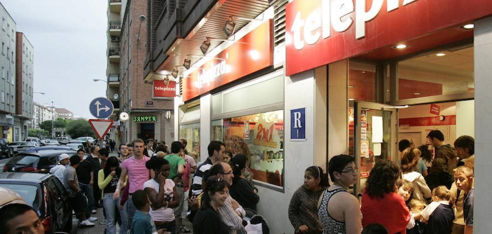 Telepizza abandona los 'números rojos' en el primer semestre tras ganar 15,4 millones
