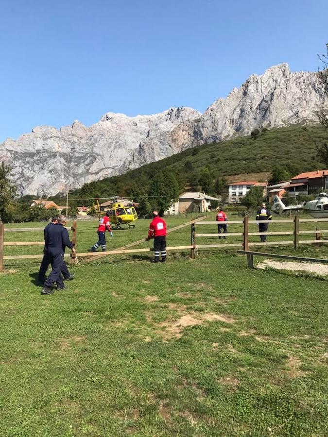 Rescate en Picos de Europa