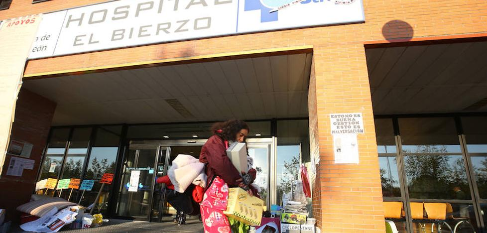 La Coordinadora Antiprivatización de la Sanidad critica el desalojo de los encerrados en el Hospital del Bierzo