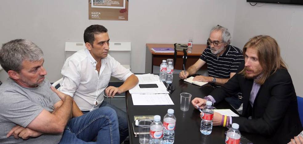 Podemos y CCOO coinciden en pedir una subida salarial y animan a Herrera aplicarla a los empleados públicos
