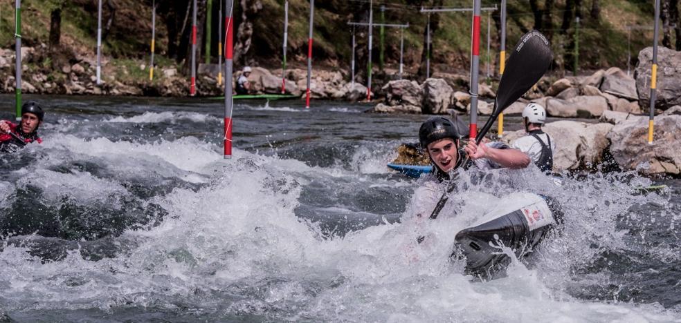 La Junta inyecta 300.000 euros para la construcción en Cistierna de un parque fluvial de piragüismo