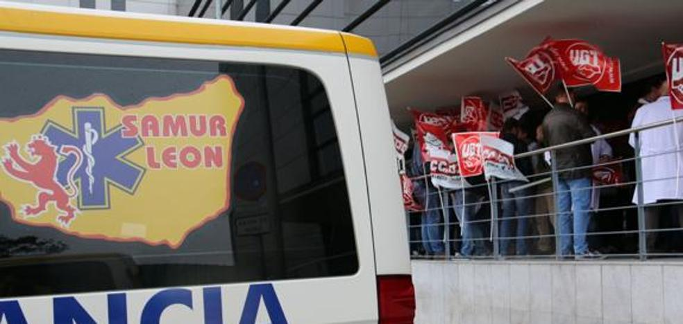 Los empleados de transporte sanitario singuen sin convenio desde 2015 y los sindicatos planean movilizaciones