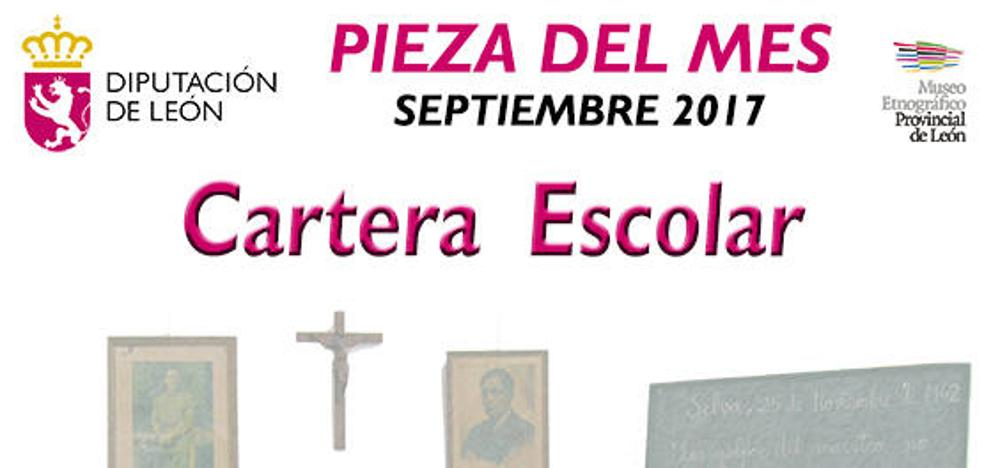 La Diputación presenta 'La cartera. La Escuela de ayer' como pieza del mes