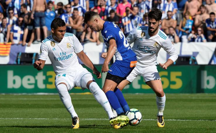 El Alavés-Real Madrid, en imágenes