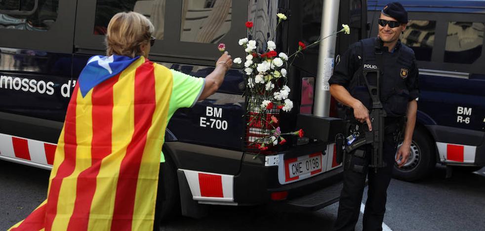 El sindicato de los Mossos ven «inadecuada e injustificada» la coordinación de Interior para el 1-O