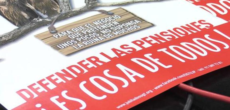CCOO y UGT llaman al PP a sumarse a la defensa del sistema de pensiones en las Cortes