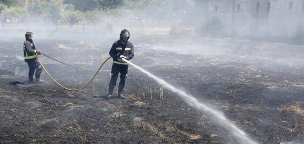 CCOO y PSOE piden que se mantenga la máxima alerta de incendios durante octubre en Castilla y León