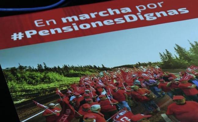 Así serán las etapas a su paso por León las marchas por las pensiones