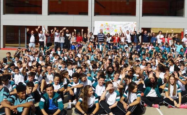 Los colegios de León se suman al Día Europeo del Deporte Escolar con actividades y lectura de un manifiesto