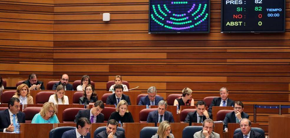 Las Cortes sin el apoyo de C´s piden una normativa que evite el cierre de las térmicas por ser de interés público