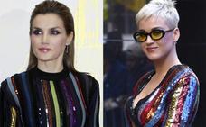 Katy Perry copia a la reina Letizia