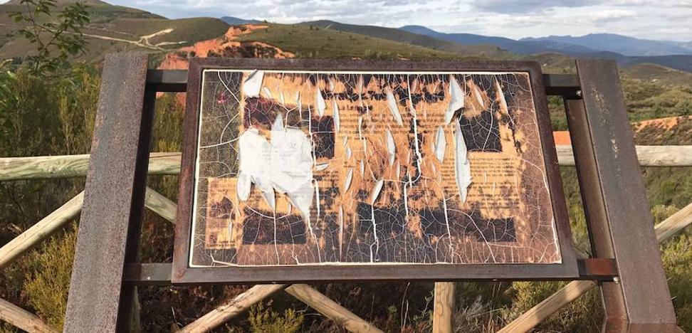C's pide a la Junta que renueve la señalización y las rutas de La Leitosa por su «pésimo estado»