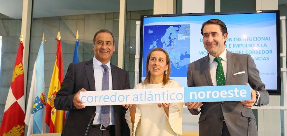 El noroeste hace «frente común» y pide a la Unión Europea que León sea nexo entre Galicia y Asturias en el corredor atlántico
