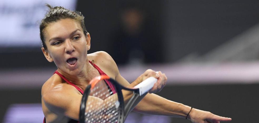 Simona Halep arrebata el número uno del mundo a Muguruza