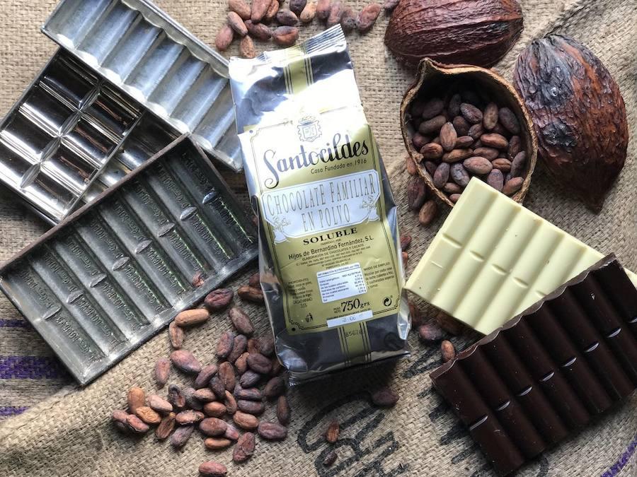 Santocildes, el sabor del chocolate leonés