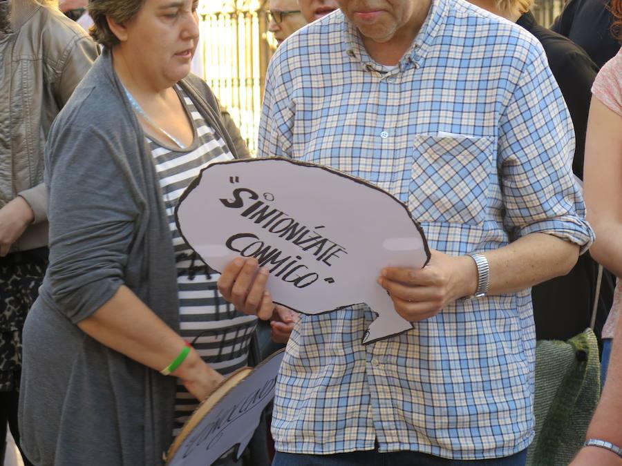 Manifestación del Día de la Salud Mental