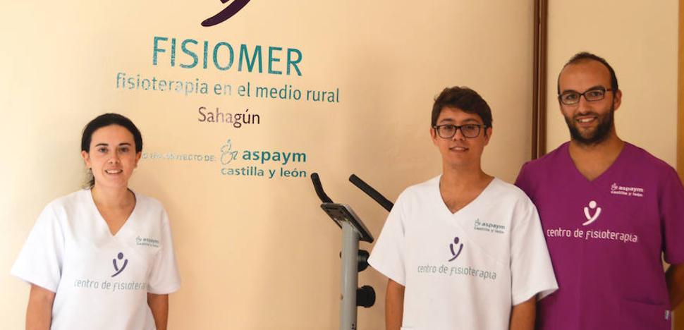 FISIOMER cumple un año como proyecto pionero en Sahagún