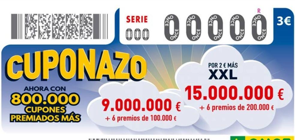 El cupón de la ONCE deja en Fabero un Sueldazo de 300.000 euros al contado y 5.000 euros al mes durante 20 años