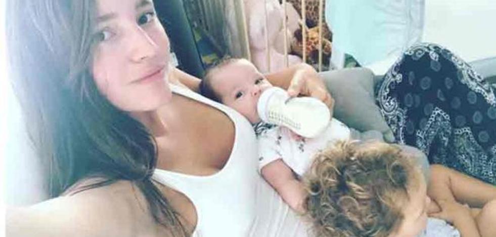 Malena Costa estalla contra los que le tachan de mala madre