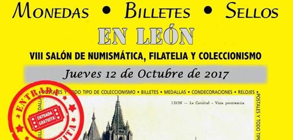 León acogerá el próximo jueves el VIII Salón de Numismática, Filatelia y Coleccionismo