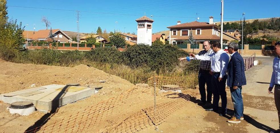 Saleal mejora el saneamiento, las aceras y el abastecimiento de Quintana de Raneros con 600.000 euros
