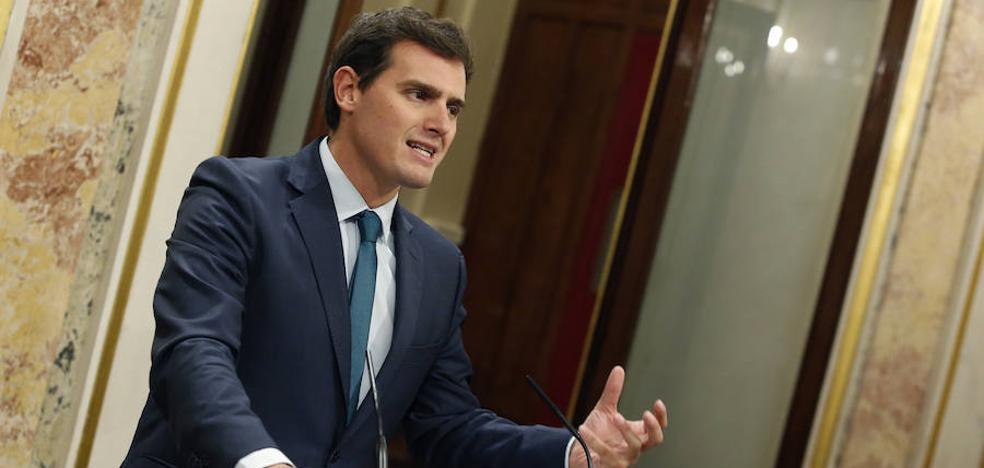 Albert Rivera, «satisfecho» de que Rajoy aplique el artículo 155