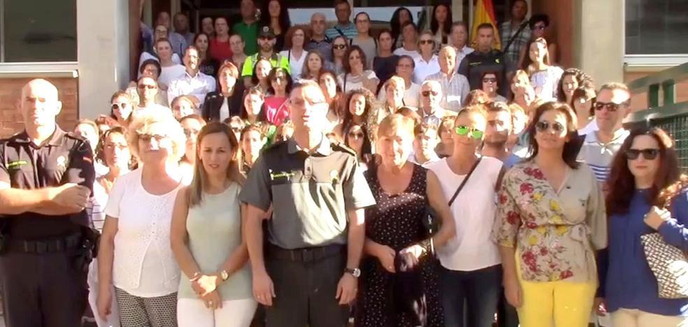 El grito de apoyo a la Guardia Civil de León a sus compañeros en Cataluña