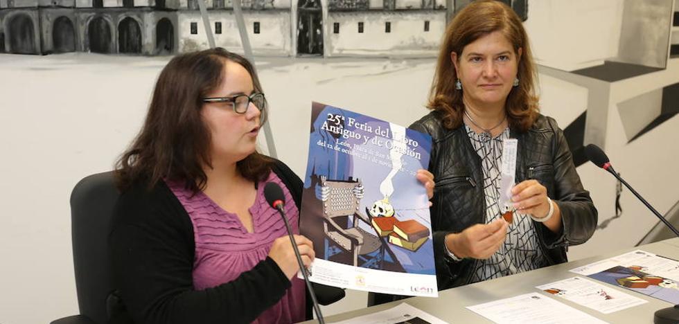 La Feria del Libro Antiguo celebra su 25 aniversario con música, conferencias, exposiciones y dulzaina