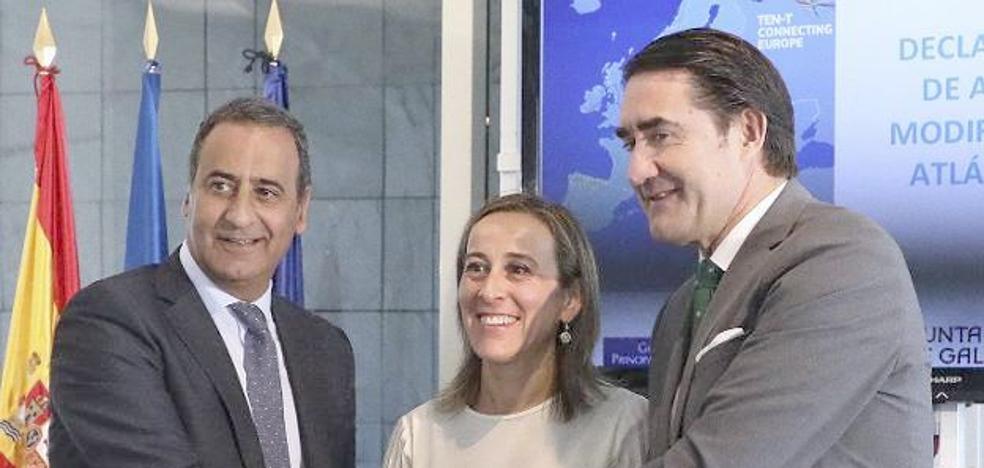 Las obras para el Corredor Cantábrico tendrá un coste superior a los 2.300 millones de euros