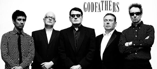 Conmponentes de el grupo The Godfathers/