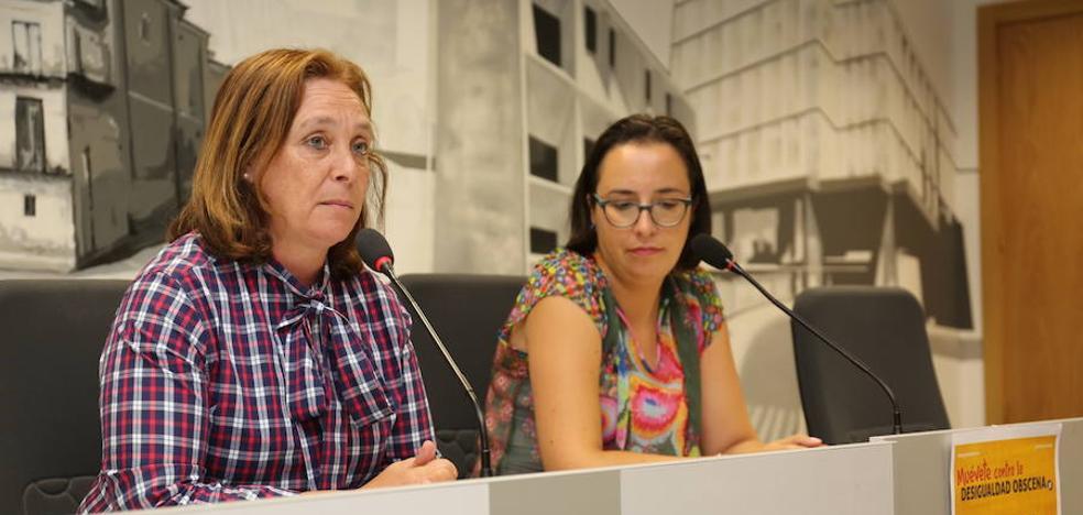 León se suma a la campaña de lucha contra la pobreza 'Muévete contra la desigualdad obscena'