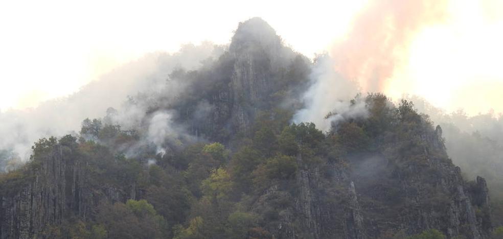 Mejora la situación de los fuegos activos en Castilla y León