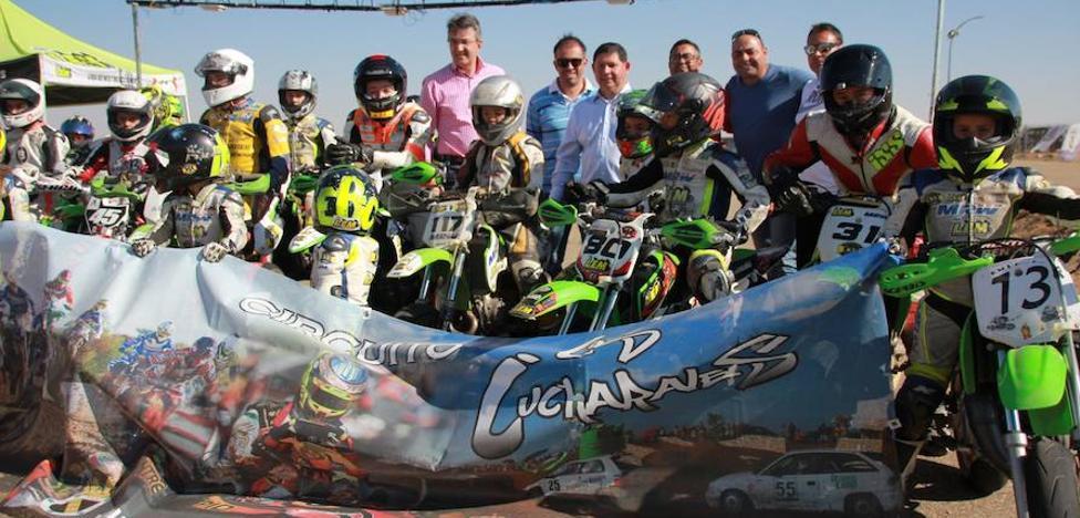 Los Cucharales, escenario idóneo para entrenamientos de motociclismo de velocidad