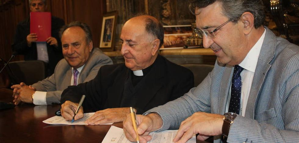 La Diputación destina 20.000 euros para el mantenimiento y restauración de los pináculos de la Catedral de León